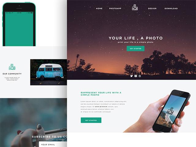 phototime-website-template