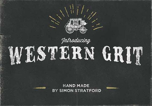 western-grit-font