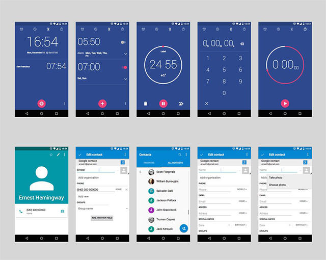 Android-Lollipop-UI-Design-Kit-for-Free