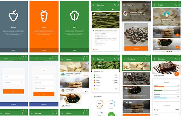 Material-UI-Kit-Cooking