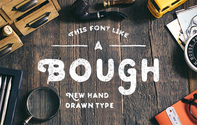 bough-font
