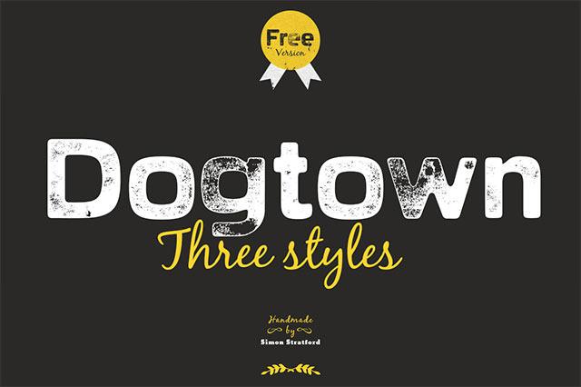 dogtown-font
