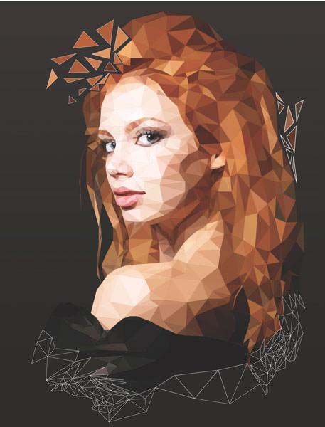 polygonal-girl