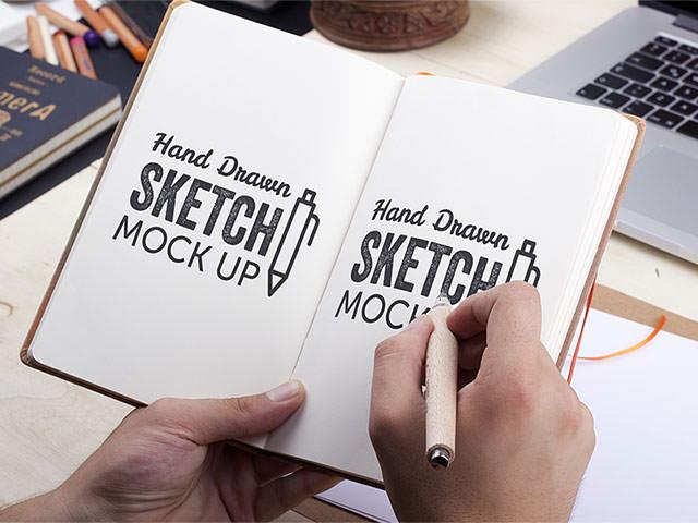 sketch-mockup