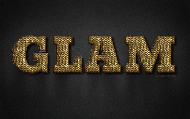 GlamGold-texteffect