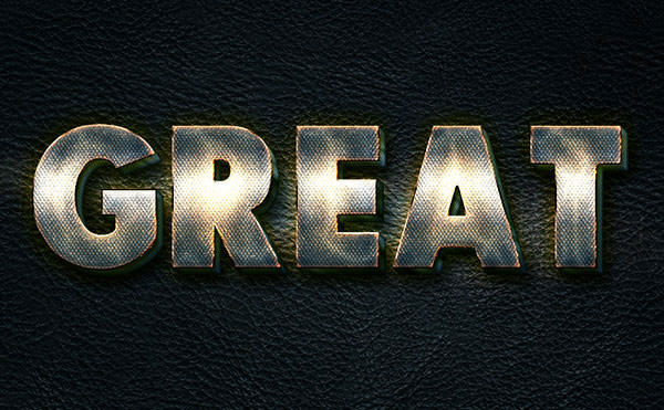 Glowing-Metal-Text-Effect