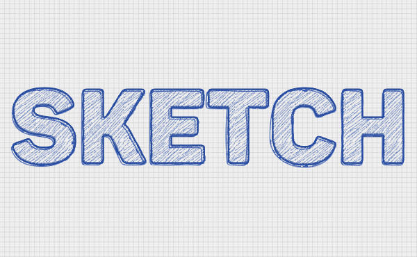 Sketch-Text-Effect
