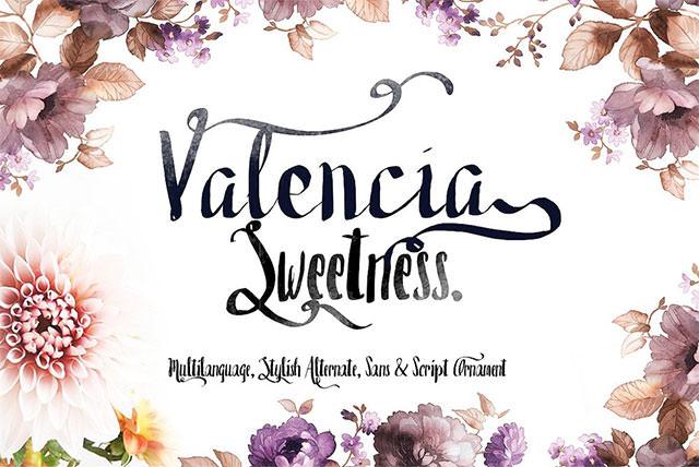Valencia-Free-Font