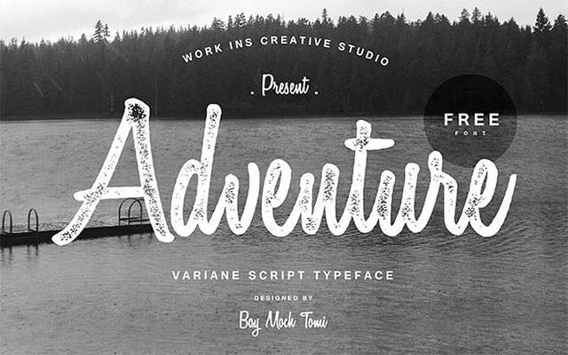 Variane-Script-font