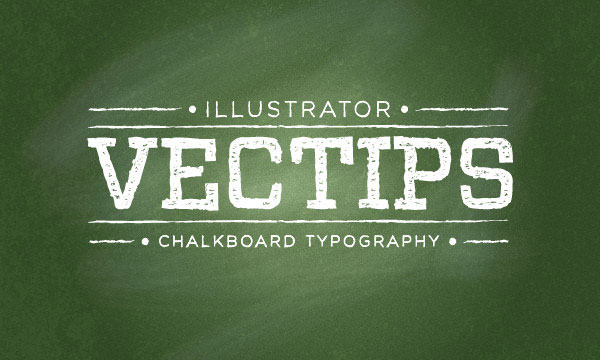 chalkboard-typography
