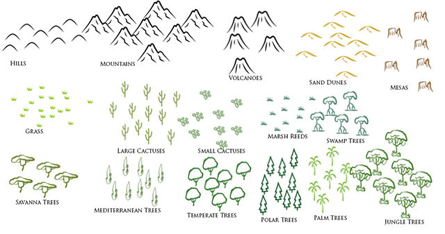nature_brush_set_for_cartography