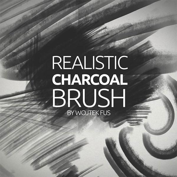 realistic-charcoal-brush