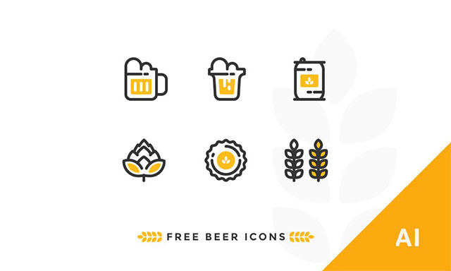 Free-Outline-Beer-Icons