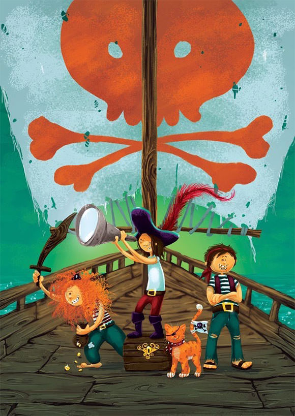 create-a-multi-character-pirate-illustration-for-young-children-in-adobe-photoshop