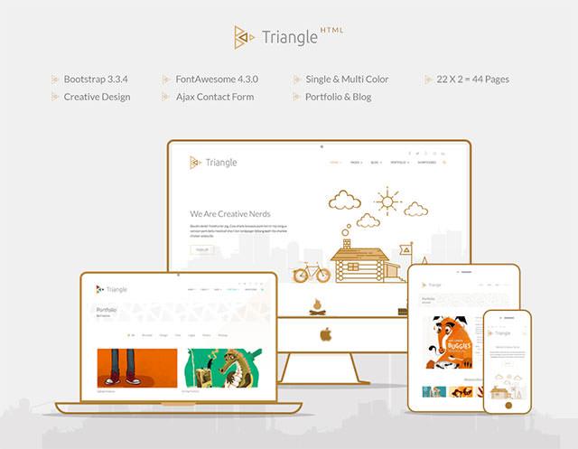 triangle-html
