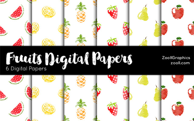 fruit-digital-paper