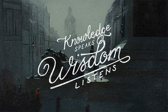 knowledge-speaks-wisdom