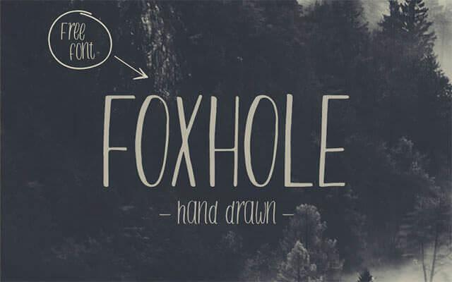 foxhole-typeface