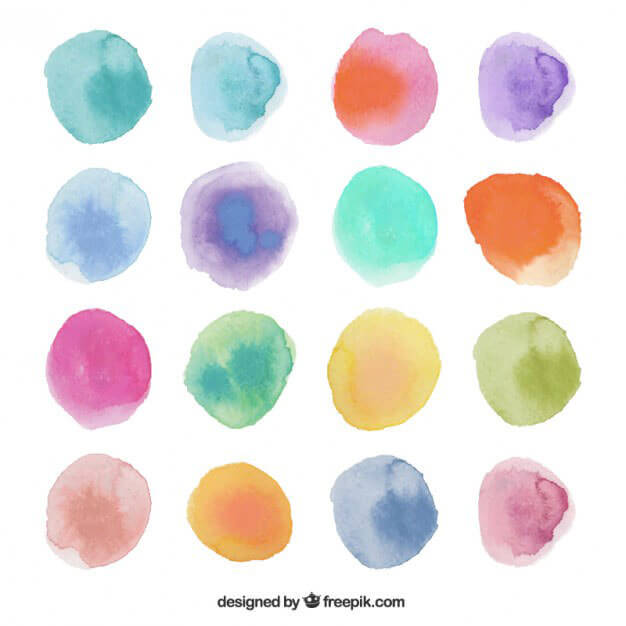 watercolor-dots