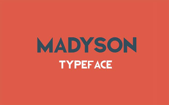 madyson-typeface