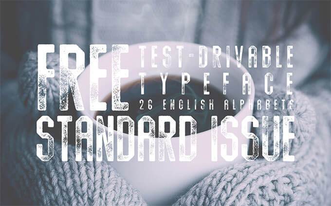 standard_issue_free_font_preview