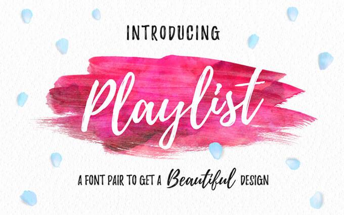 01_playlist-free-font (1)
