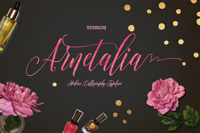 01_Arnetalia-Free-Font