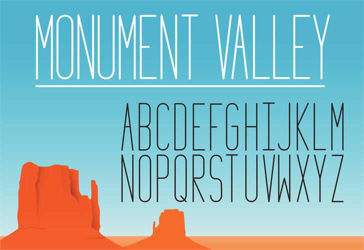 Monument-Valley-Font