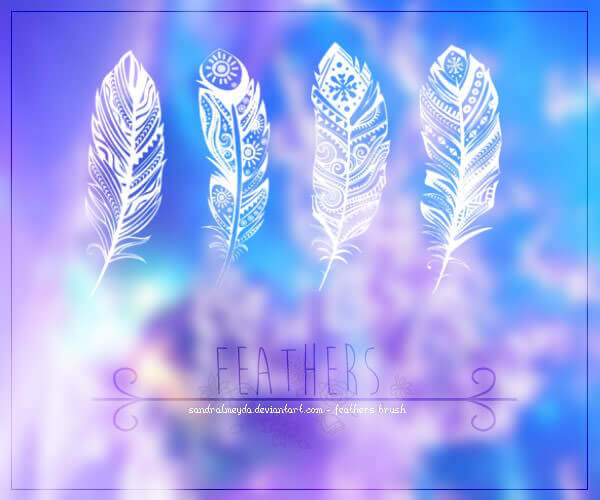 artistic-feathers