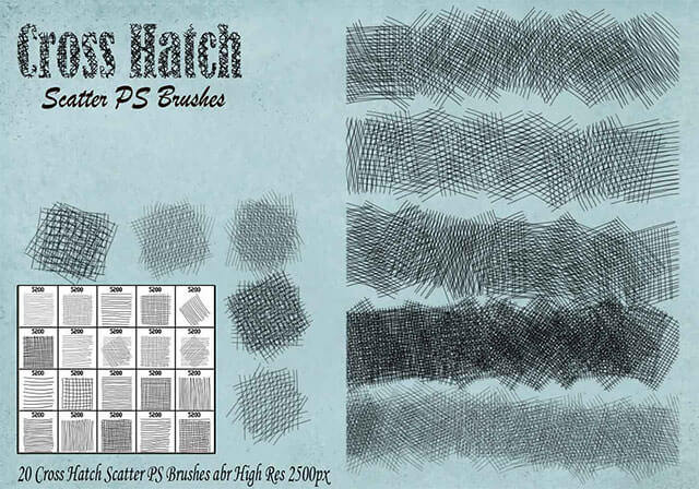 cross-hatch-scatter-ps-brushes-abr