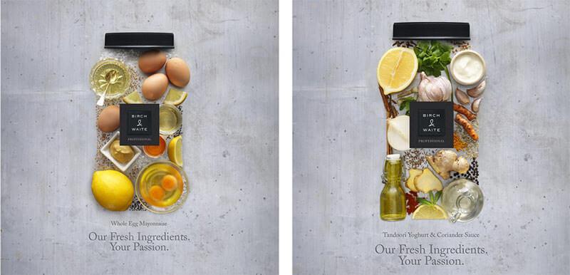 美味しそうな食べ物を使った、50個のデザインアイデアまとめ