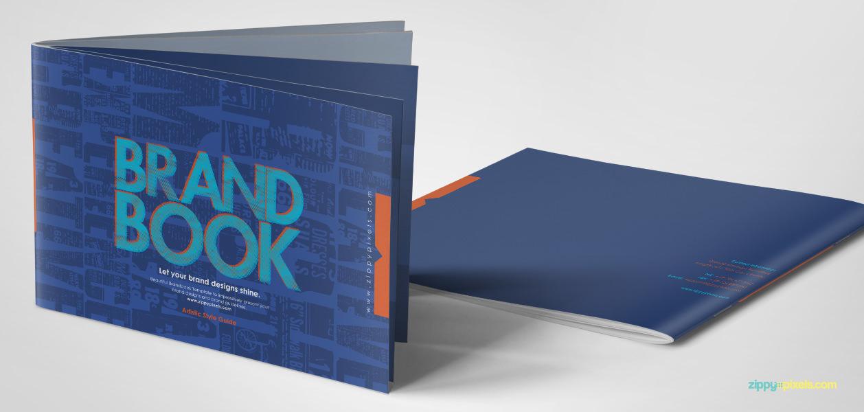 Brandbooks Free Brand Guidelines Template