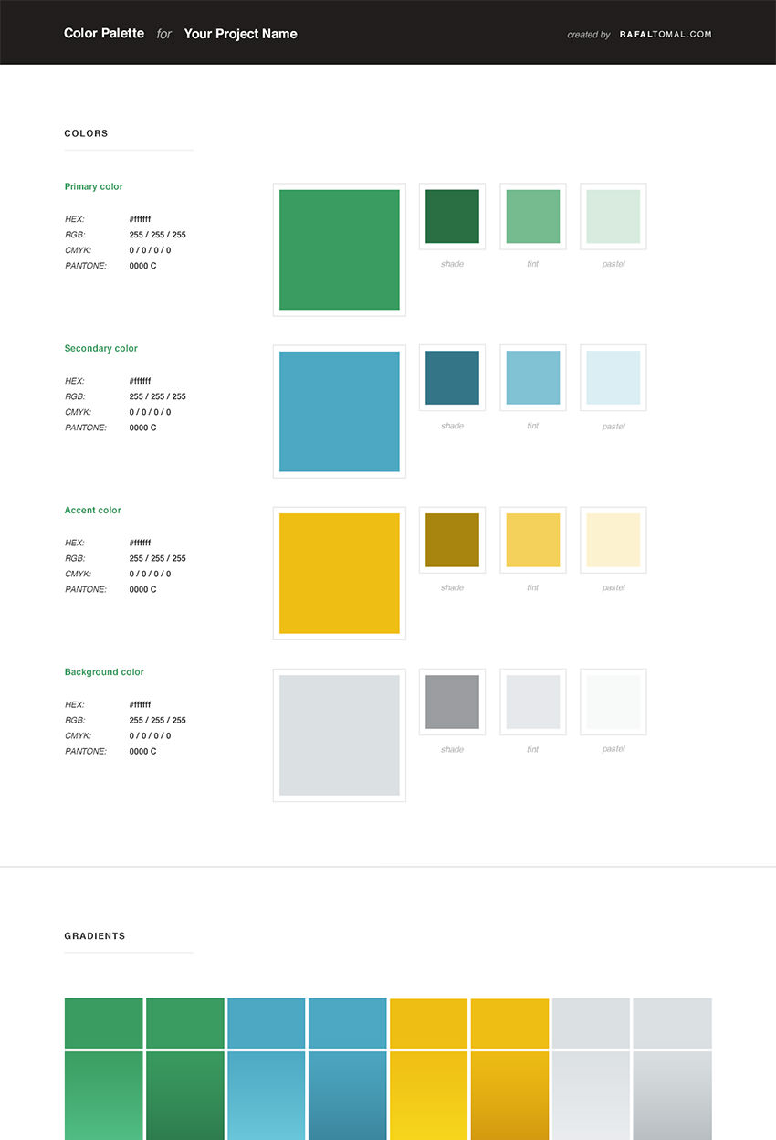 rafal-tomal-Free Web Style Guide PSD Template2
