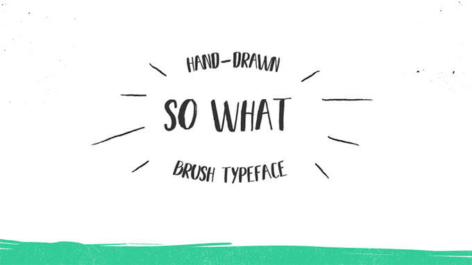 so-what-font