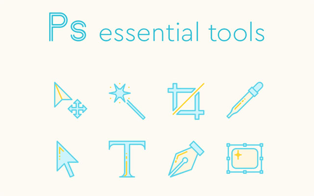 Photoshop-Tools-Icons