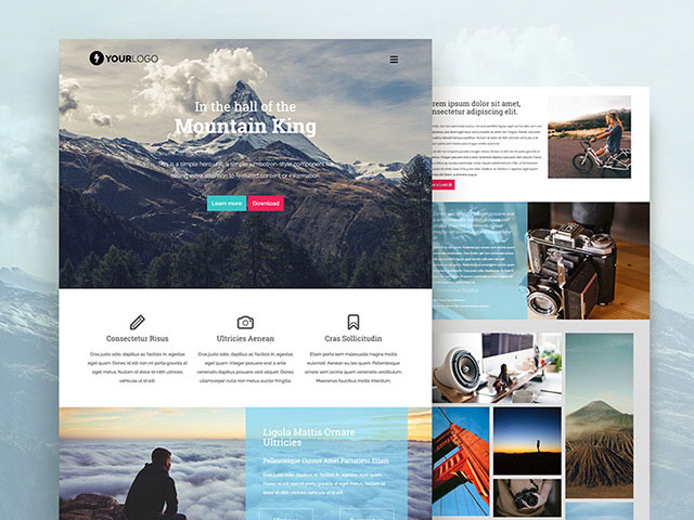 mountain-king-bootstrap-free-html-template
