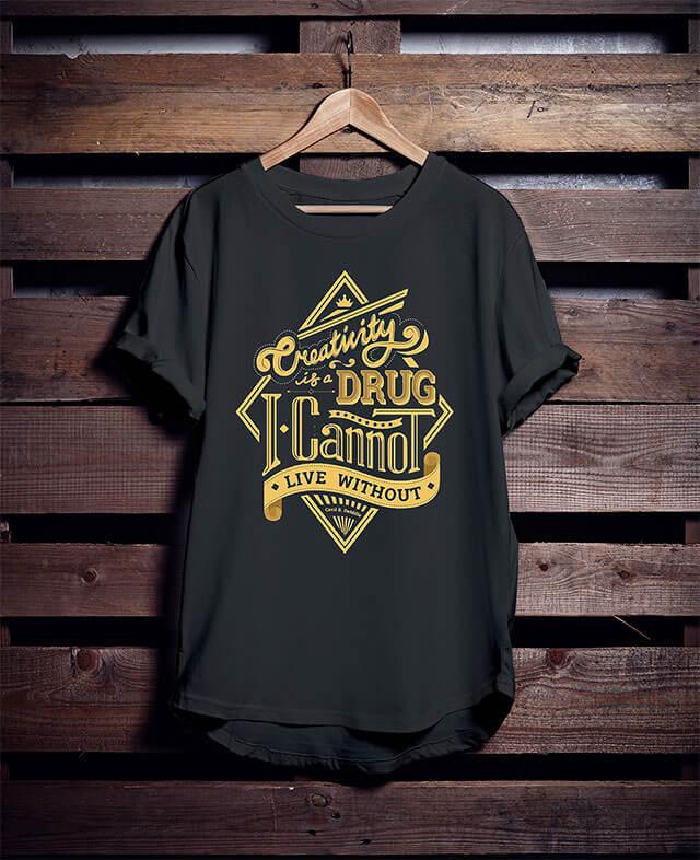 Free-Hanging-T-Shirt-Mockup-1