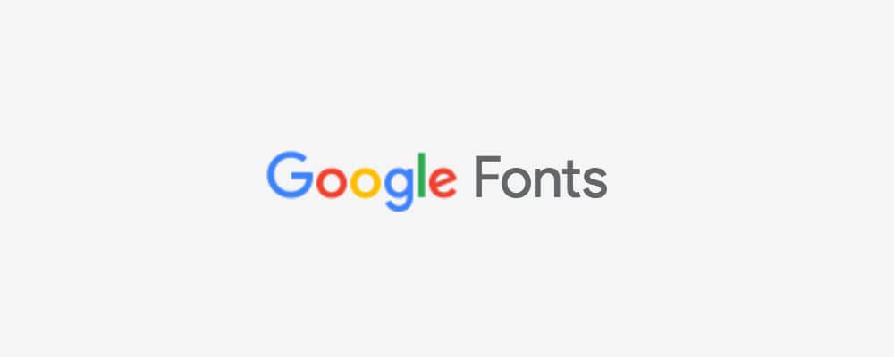 google-web-font