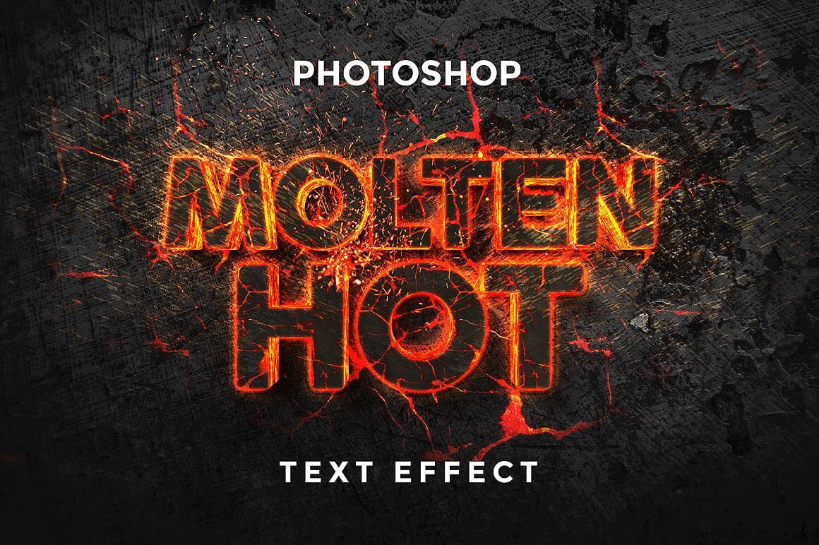 40 Best Free Photoshop Text Effects - Web Design Blog
