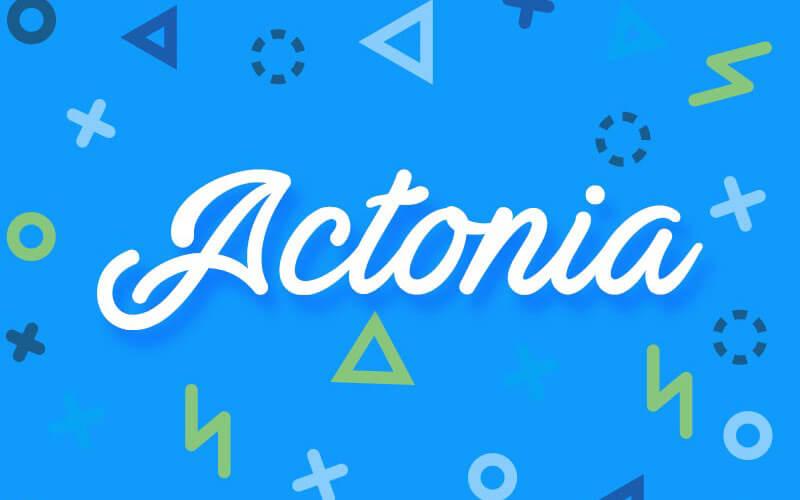 Actonia-Free-Font