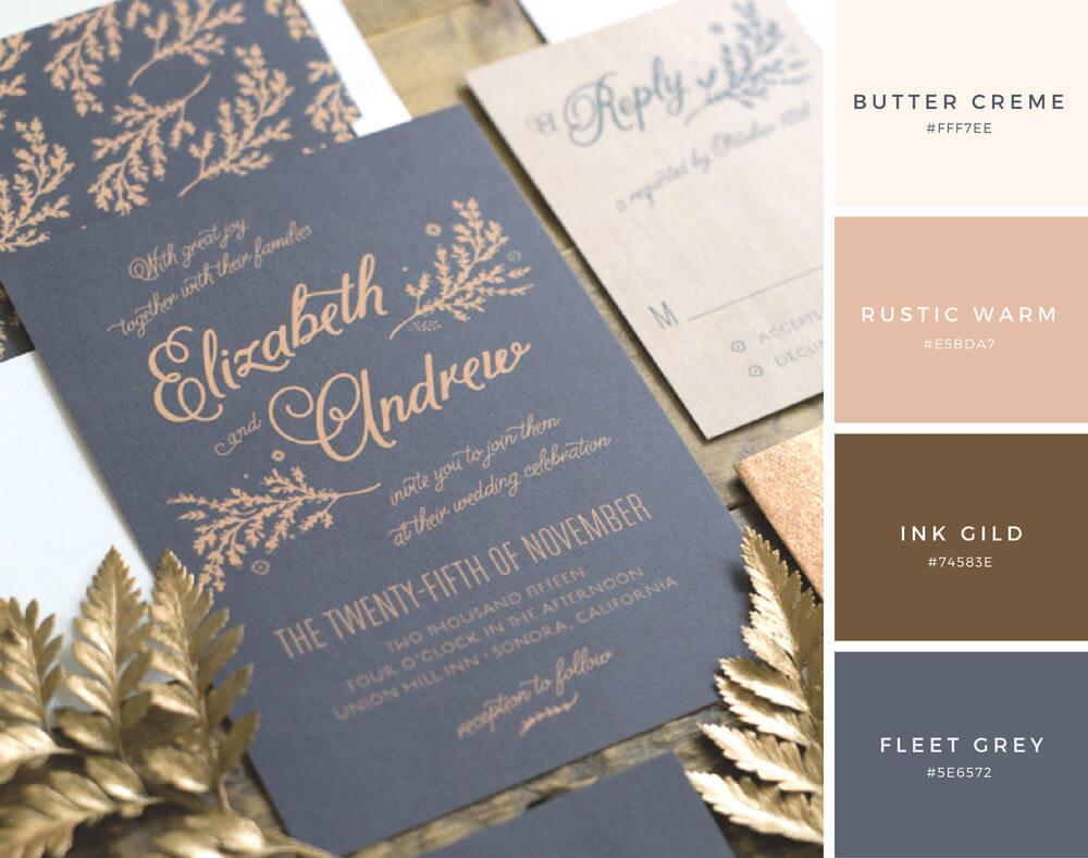 結婚式の配色はこれだ!参考にしたい美しい色の組み合わせ25個まとめ - PhotoshopVIP