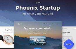 Phoenix-Startup-UI-Kit