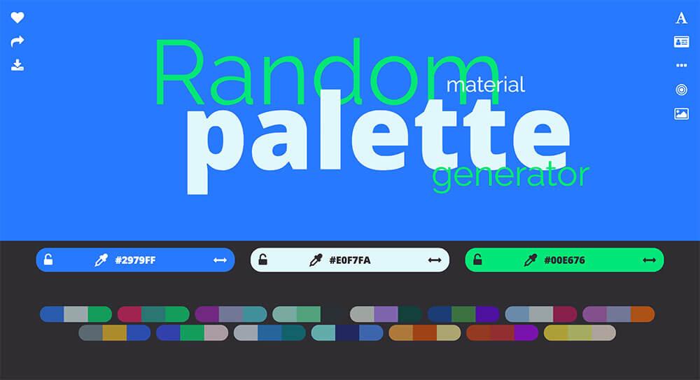 randam-material-palette-generator
