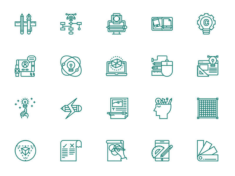 30-design-thinking-icons-eucalyp