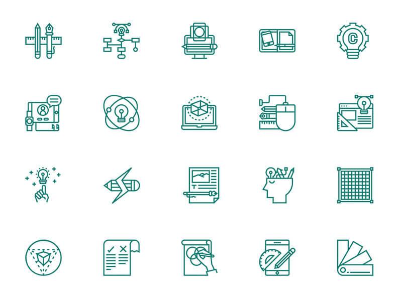 30-design-thinking-icons-eucalyp