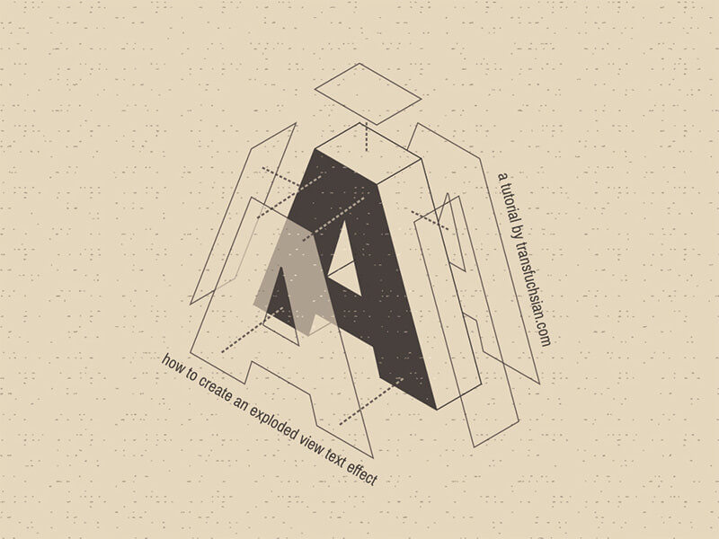 exploded-typography