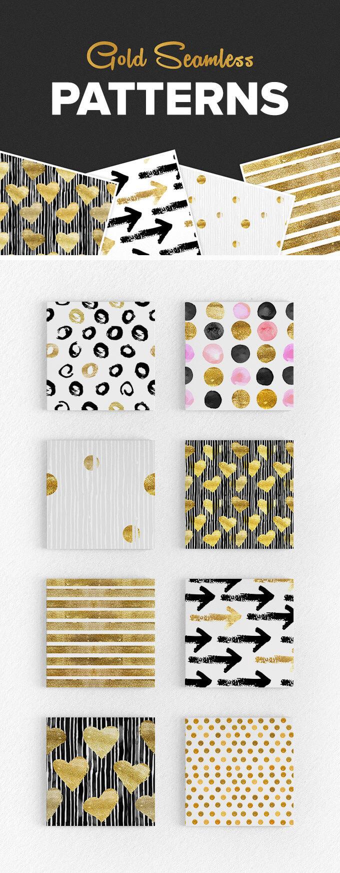 gold-seamless-patterns