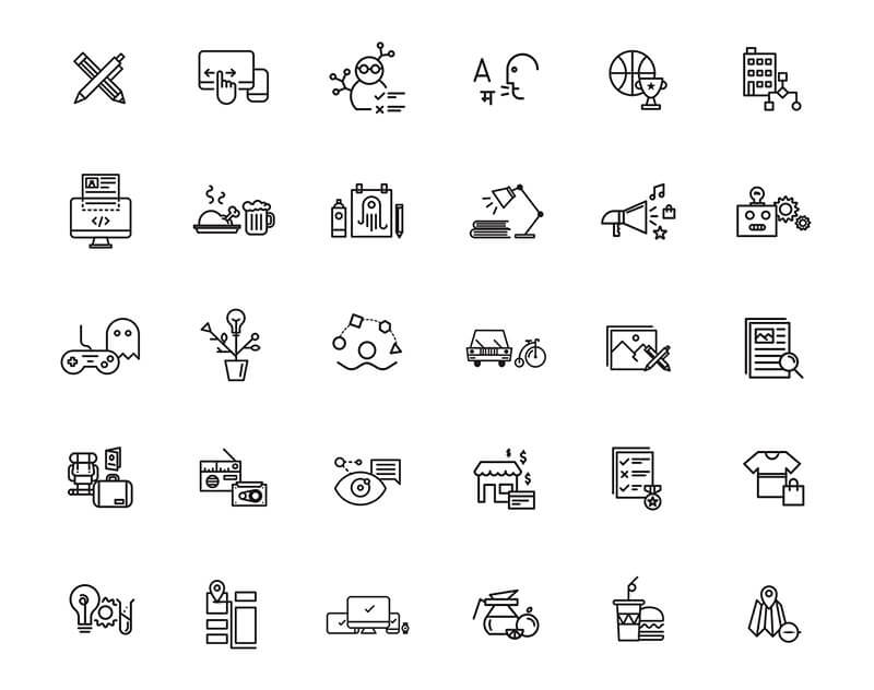 outline-entertainment-icons