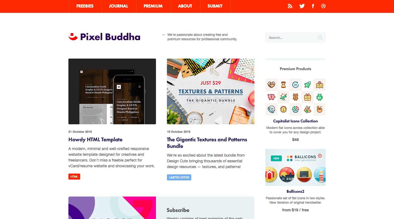 pixel-buddha