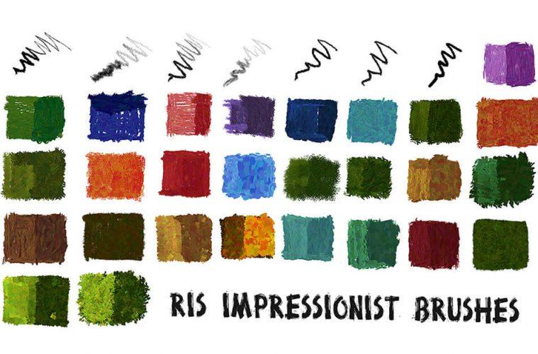 impressionist-brushes